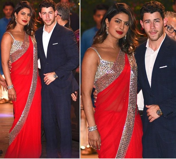 Priyanka Chopra, Nick Jonas at ambani engagement party