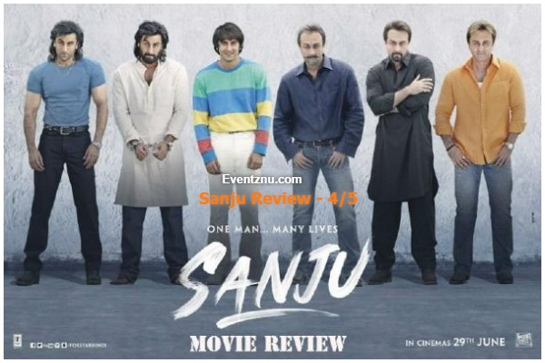 Sanju Movie Review[4/5]: Ranbir Kapoor Wooed With His Outstanding Performance Depicting Sanjay Dutt's Controversial Life