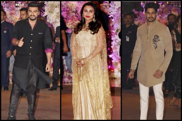 Celebs at Ambani Engagement