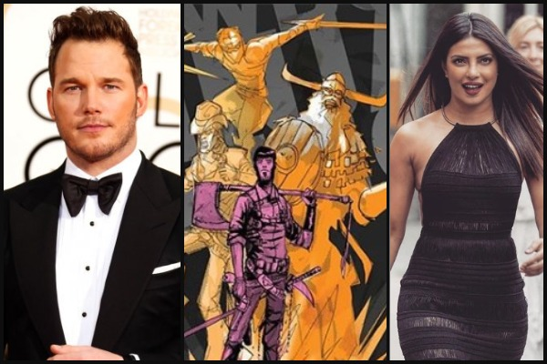 Priyanka Chopra Bags Female Lead Role Opposite Chris Pratt in 'Cowboy Ninja Viking'