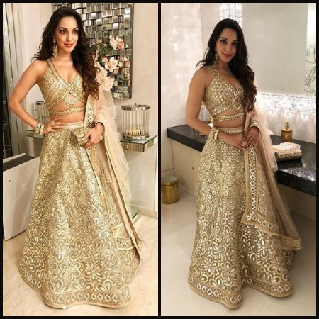 Kiara Advani at Akash Ambani -Shloka Mehta's Grand Engagement