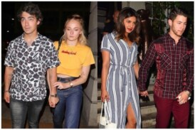 Priyanka Chopra-Nick Jonas Go On A Double Date With Sophie Turner And Joe Jonas!
