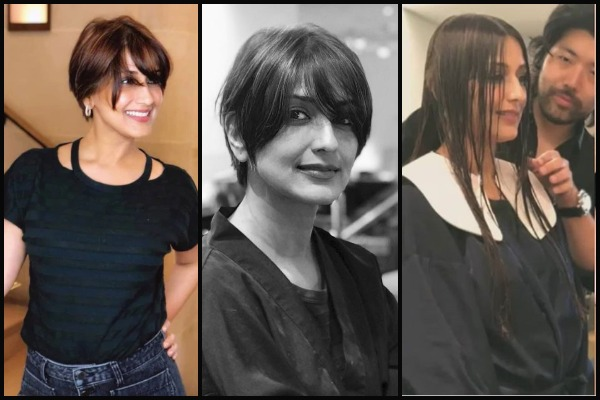 Sonali Bendre Chops Her Hair Locks; Fights Cancer In A New Avatar With A Positive Take