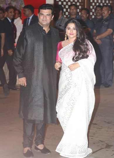 Vidya Balan at Akash Ambani -Shloka Mehta's Grand Engagement