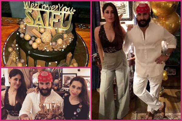 Inside Pics: Kareena Kapoor Khan Hosts Saif Ali Khan's Birthday Bash; Sara, Ibrahim and Others Attend