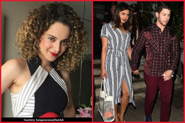 Kangana Ranaut Reveals Priyanka Chopra Is Excited For Her Wedding With Nick Jonas!
