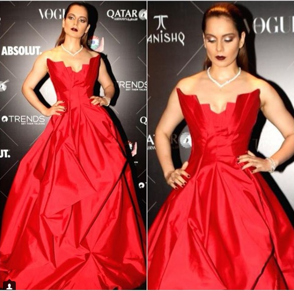 Kangana Ranaut at Vogue Awards 2018