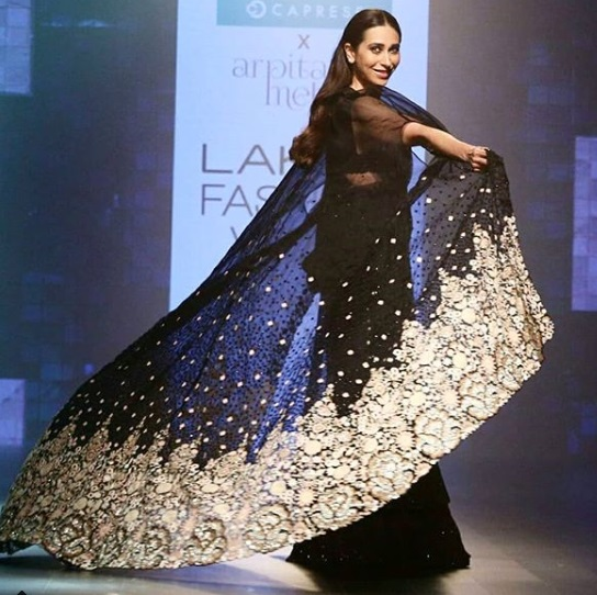 Karisma Kapoor Lakme Fashion Week