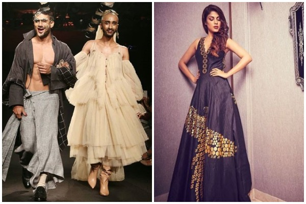 Rhea Chakraborty Stuns In Black, Pratiek Babbar In Drag Queen Avatar Add Oomph To The Lakme Fashion Week 2018!