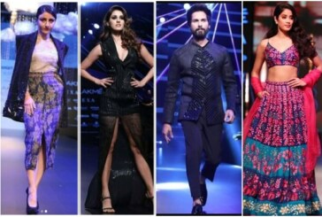 Shahid Kapoor, Disha Patani, Janhvi Kapoor, Karisma, Soha, Huma Turn Showstoppers At Lakme Fashion Week!