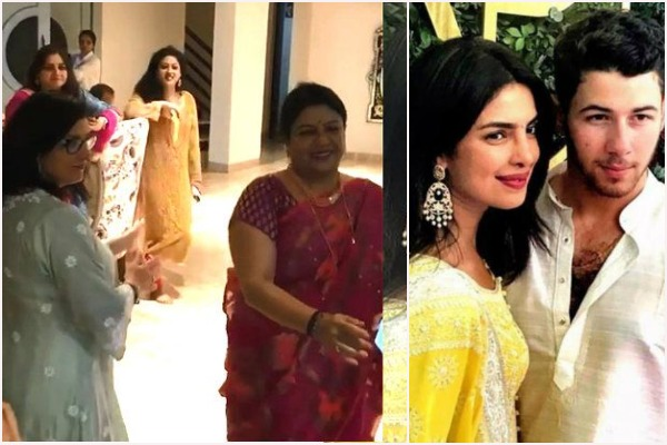 Watch: When Nick Jonas' Mother and Priyanka Chopra's Mother Madhu Chopra Danced At The Roka Ceremony!
