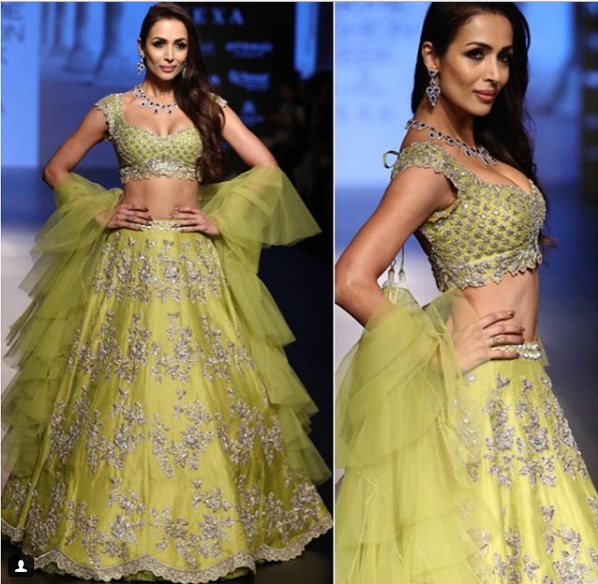 Malaika Arora Lakme Fashion Week w/f 2018