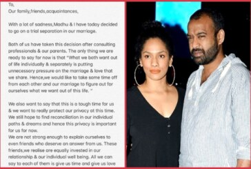 Fashion Designer Masaba Gupta And Madhu Mantena Announce Trial Separation
