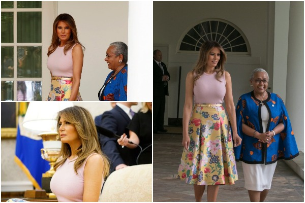 Internet Is Buzz With First Lady Melania Trump Gets Breast Implants, Faking Kidney Ailments