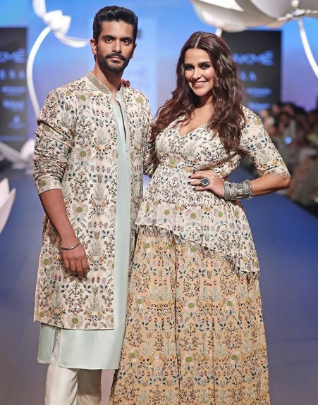 Neha Dhupia Lakme Fashion Week 2018