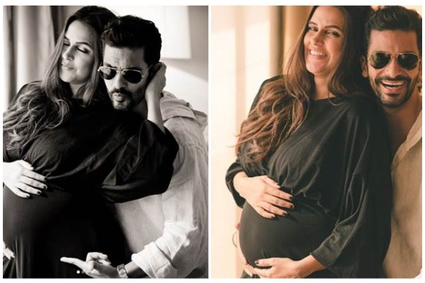 Neha Dhupia Pregnant! Husband Angad Bedi Announces Pregnancy With Adorable Pictures!