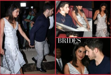 Priyanka Chopra – Nick Jonas' Family Dinner With Parents Before Their Engagement Bash!
