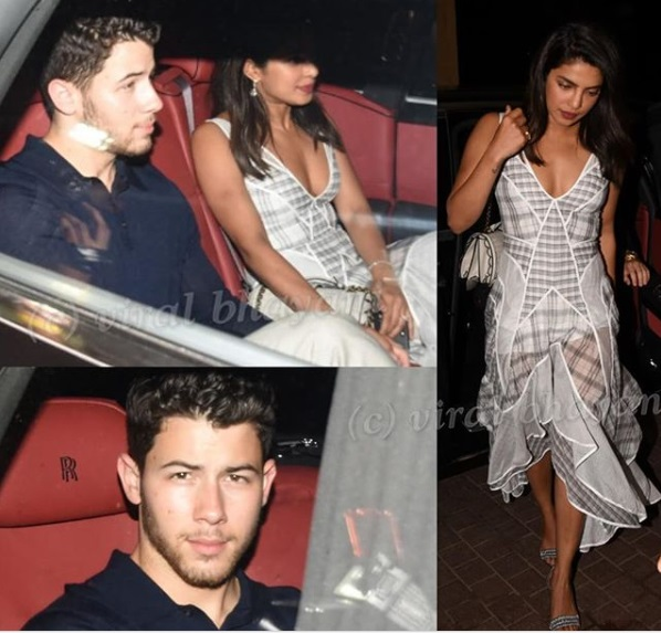 Priyanka Chopra - Nick Jonas' Family Dinner