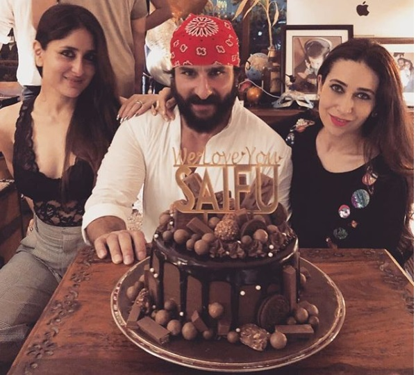 Saif Ali Khan's Birthday Bash