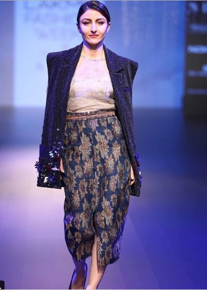 Soha Ali Khan Lakme Fashion Week 2018
