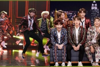 Watch BTS On Jimmy Fallon Show Performing 'Idol'; Fortnite Dance Challenge And More