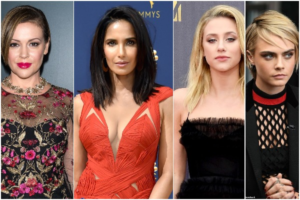 Alyssa Milano, Lili Reinhart, Sarah Hyland, Cara Delevingne Join Why I Didn't Report Movement