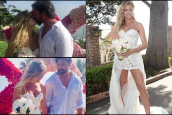 """Real Housewives of Beverly Hills"" Star Denise Richards Marries Aaron Phypers In Malibu"