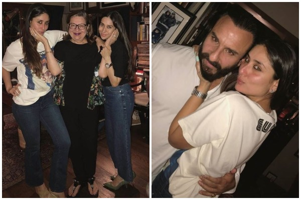 Saif, Karisma and Family Ring In Kareena Kapoor's Birthday; See Pics