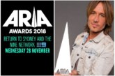ARIA Awards: Keith Urban To Return His Native To Host 32nd ARIA Awards 2018