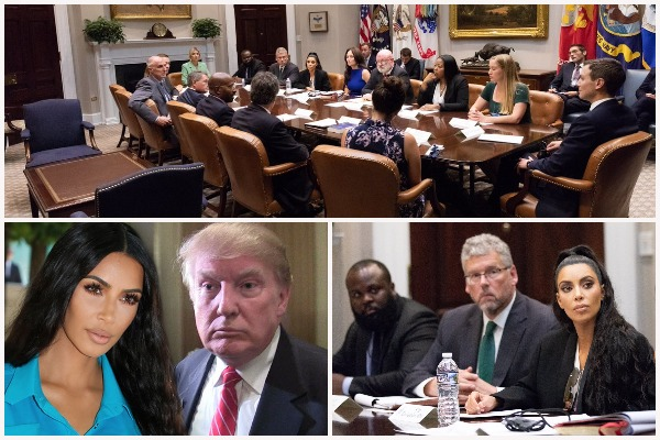 Kim Kardashian Visits White House; Meets Ivanka, Kushner For Release Of Felon and Prison Reform