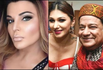 "Rakhi Sawant: ""Jasleen Matharu Is 'Prasad' Received By Anup Jalota For His Bhajans""; WATCH"