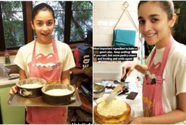 Alia Bhatt Bakes Surprise Cake For Boyfriend Ranbir Kapoor On His Birthday
