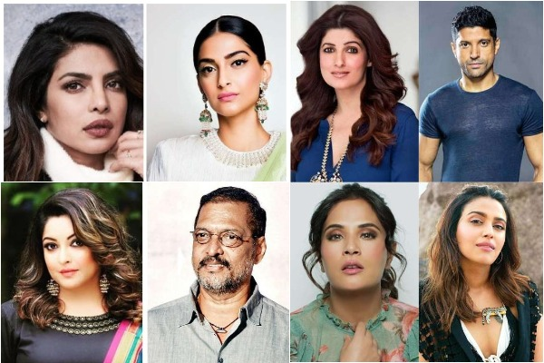 Tanushree Dutta Sexual Harassment: Priyanka, Sonam Support Tanushree; Nana Patekar To Send Legal Notice