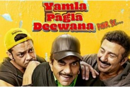 Dharmendra, Sunny and Bobby Deol Starring 'Yamla Pagla Deewana: Phir Se' Is a Total Let Down