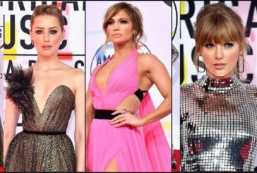 Jennifer Lopez, Taylor Swift, Amber Heard Taking Over American Music Awards 2018 Red Carpet Fashion