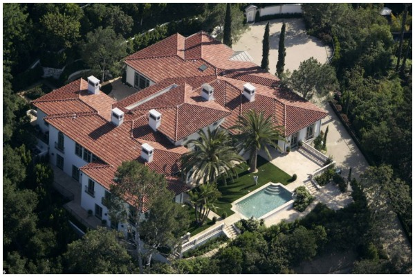 David Beckham's Beverly Hills Mansion