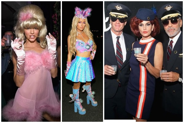 Celebrities Pull The Best Halloween Avatar At George Clooney's Casamigos Hottest Halloween Party
