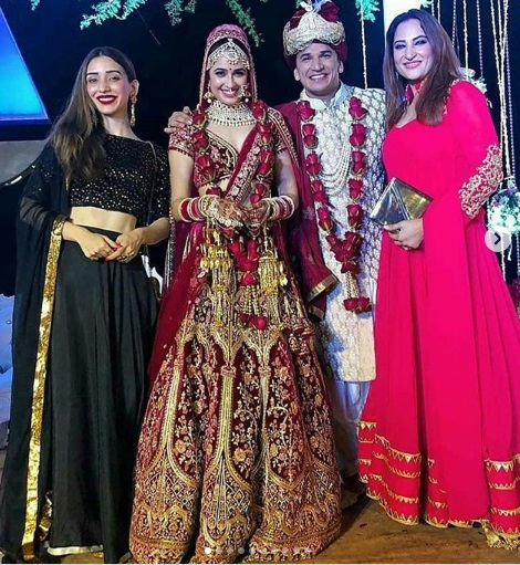 Yuvika Chaudhary Prince Narula marries