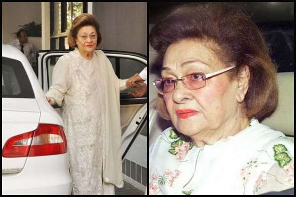 Raj Kapoor's Wife Krishna Raj Kapoor Dies Of Cardiac Arrest At 87; Bollywood Pays Tribute