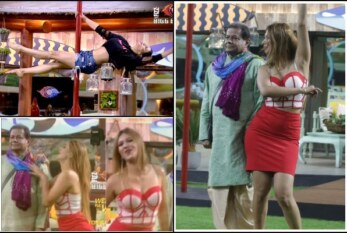 Watch Jasleen's Zara Zara Pole Dance With Anup Jalota, Nehha Pendse's Steamy Moves on Bigg Boss 12