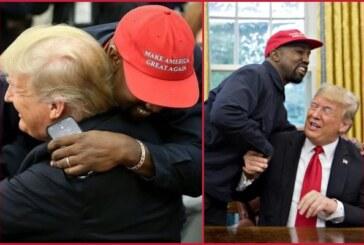 Kanye West Hugs Trump At Lunch Meet and Says MAGA Cap Made Him Feel 'Superman'