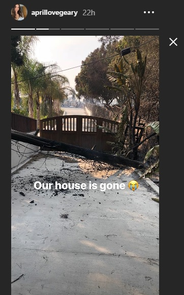 Celebs Houses Destroyed In California wildfires