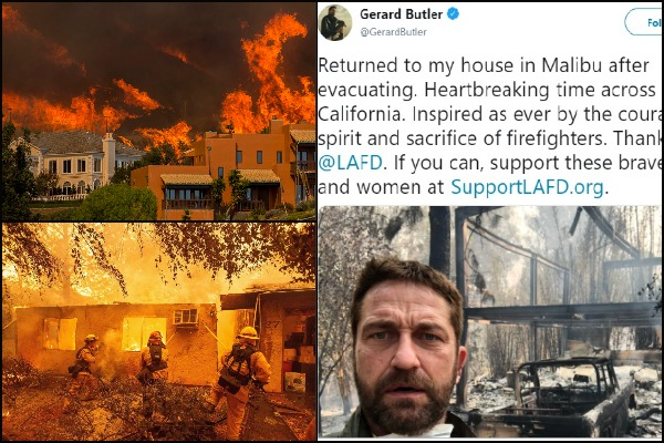 Gerard Butler, Robin Thicke, Camille Grammer: Celebs' Houses Destroyed In California wildfires