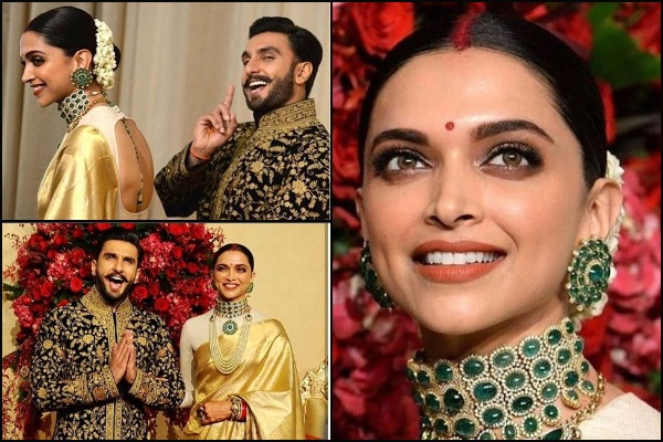 Ranveer Singh, Deepika Padukone Arrive Like A Royal Couple At Wedding Reception in Bengaluru