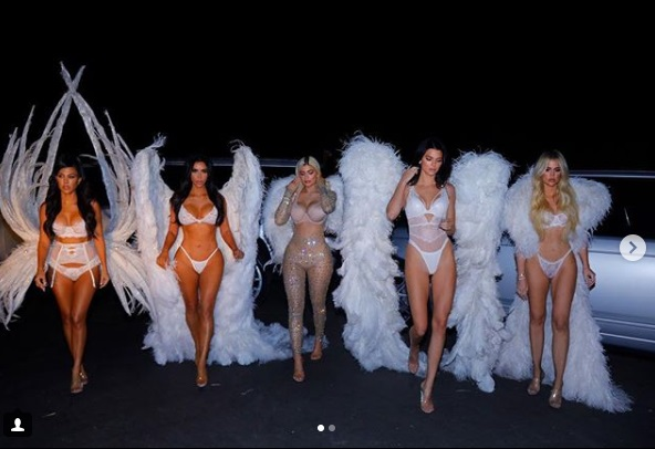 Kardashian-Jenner Victoria's Secret Angels