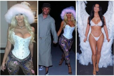 Kim Kardashian Dressed As Pamela Anderson Issues Apology For Calling Her Friends 'Retarded'