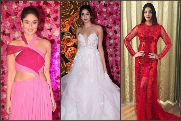 Aishwarya, Kareena, Madhuri Dixit, Janhvi, Alia, SRK At Lux Golden Rose Awards 2018