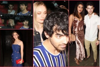 Joe Jonas-Sophie Turner, Alia Bhatt, Parineeti at Priyanka-Nick Jonas Pre-Wedding Dinner Party
