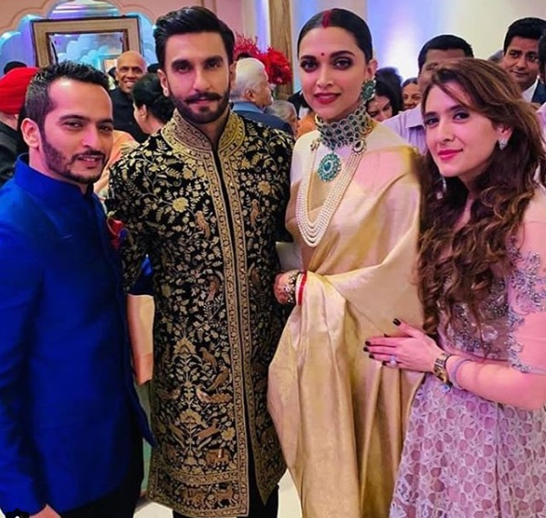 Ranveer Singh, Deepika Padukone Royal Couple