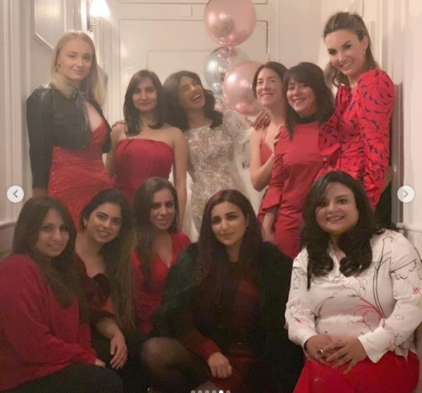 Priyanka Chopra's Bachelorette Party